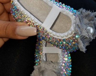 Bling Baby Crib/Booties Shoes