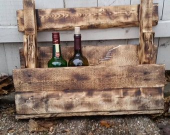Made to order Pallet Wine Rack