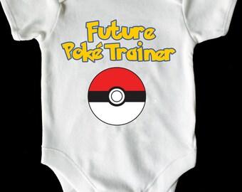 Pokemon baby vest/grow/romper/bodysuit