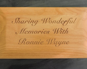 Memorial Box for funeral layout services, Pesonalized memories for lost loved one