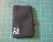 zo bags coin purse wallet  BLACK cordura truck tarp coin bag