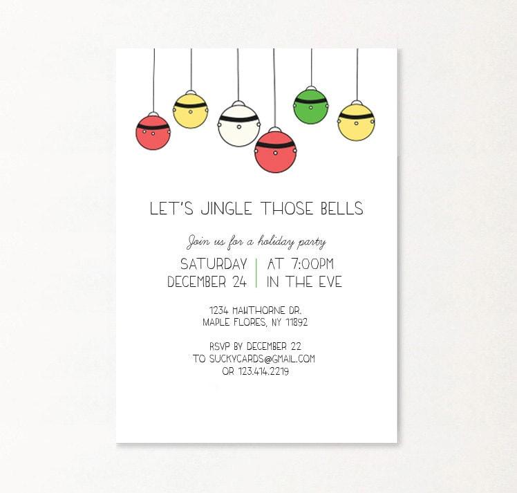 DIGITAL Funny custom Christmas invitations Funny Christmas