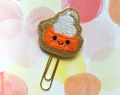 Planner Clips, Pumpkin Pie, Fall Planner Clip, Bookmark, Paperclip, Planner Accessories