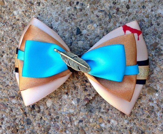 Colors of the Wind Bow or Bowtie
