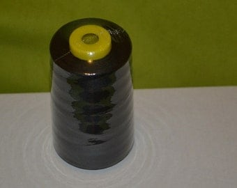 5000 YARD Roll black   polyester cotton cone