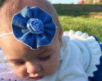 Denim Jean Headband
