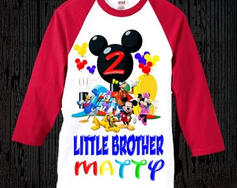 Mickey Mouse Brother Shirt