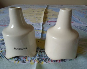 pottery pie funnels x 2