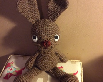 Crocheted Rabbit Bunny