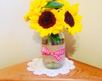 Picnic Flower Vases