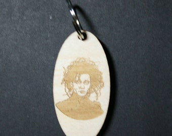 Edward Scissorhands Inspired Keychain