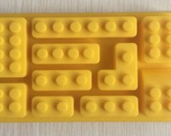 Bricks from LEGO Universe Silicone Mold #1