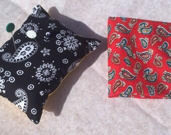 Sewing pin cushion & needle case