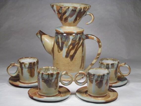 Drip Over Coffee/Espresso Maker Espresso cups Coffee Pot