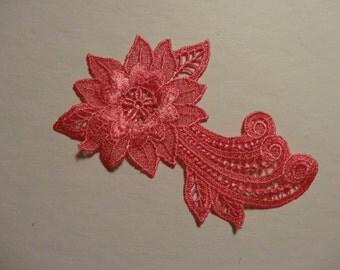 Hot Pink Flower Medallion - Lot of 6