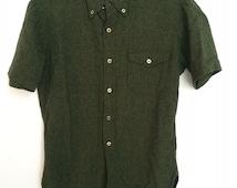 Pendleton Wool Short Sleeve Button up - Size M