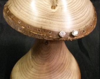 Handmade earring holder