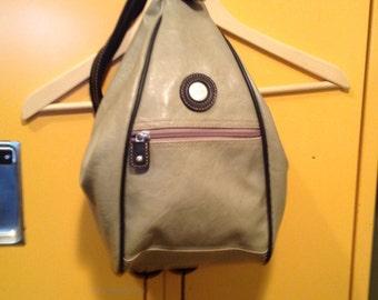 Backpack, bag of Mouflon, beige, sand, vintage, backpac