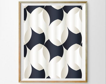 Navy Blue Wall Art navy blue triangle print dark blue triangle wall art blue