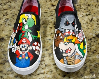 Super Mario Shoes - Adult