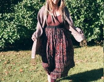 Indian Cotton Summer Skirt