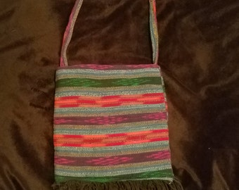 Southwestern Tote Bag,Southwest Purge,Native American Style Purse,Aztec Bag,Tribal Pattern,