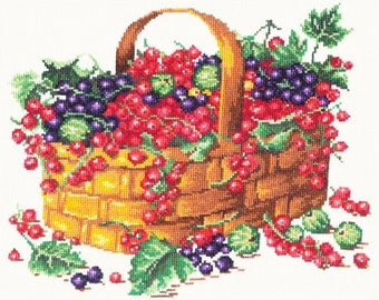 Cross Stitch Kit Summer fruits