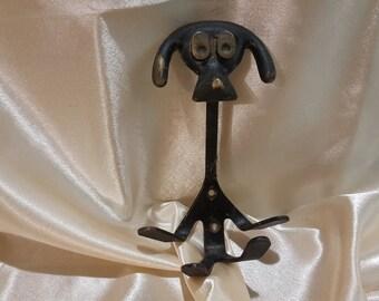 Vintage USSR hook hanger dog