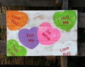 Valentine Candy, Conversation hearts