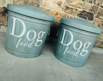 Dog Food Storage, Storage Container, Dog Organization, Pet Food Storage, Food Storage