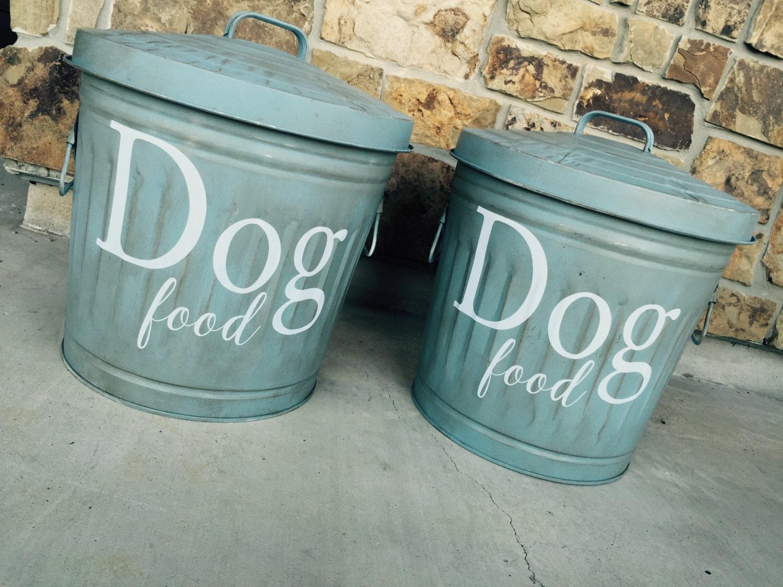 dog food storage storage container dog organization pet. Black Bedroom Furniture Sets. Home Design Ideas