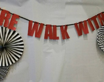 Twin Peaks Fire Walk With Me Party Banner