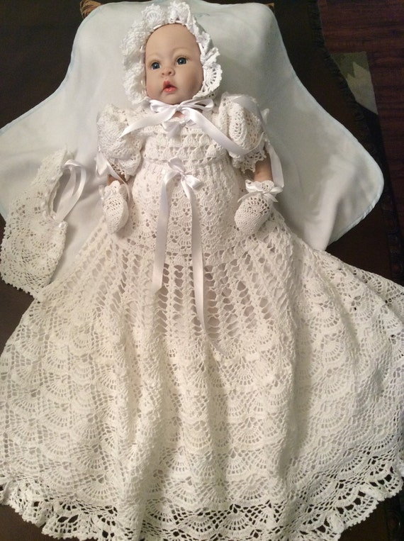 5 Crochet Patterns Of Christening Gowns At A Discount Price