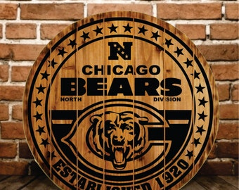Chicago Bears Sign  - Buy One - Get One - Free (Extended thru 2/7/16)