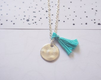 Pomponne grigri necklace | Mint