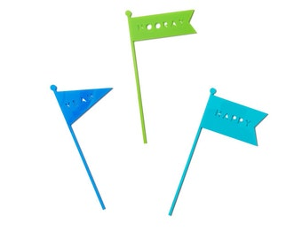 FLAG CAKE TOPPERS - Handsome
