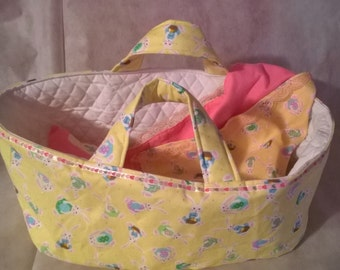 Doll Carrier...Custom made in a variety of colors