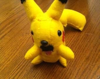 Pikachu stuffed doll