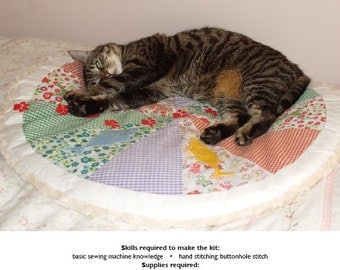 Mister Harley, 'Pizza Quilt Bed'
