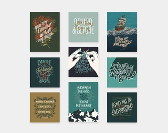 Psalm 139 Bundle (9 Prints)