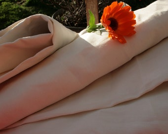Pure French linen HUGE Unused Unwashed  FREE  shipping in Europe