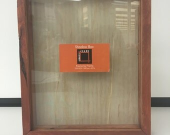 Recycled Pallet Wood Shadow Box (8x10)