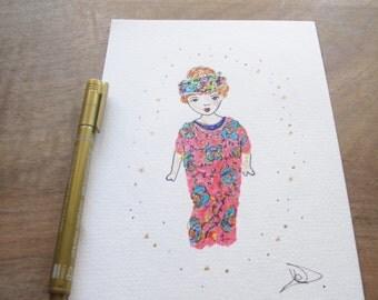 Illustration Zoey