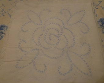 Rose Embroidery Squares