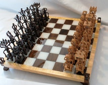 Scroll Saw Pattern: Advanced Chess Set #2