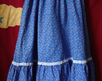 70's Flounce Skirt by Marilyn Togs Vintage