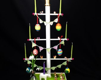 Easter tree, complete