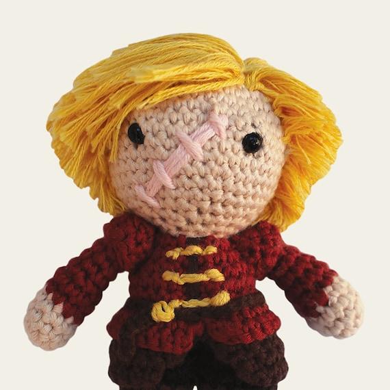 Tyrion Lannister Game of Thrones. Amigurumi Pattern PDF