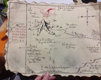 Map For Erebor