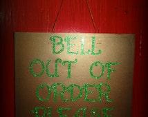 Door Sign - Emerald City Wizard of Oz Inspired 12x12